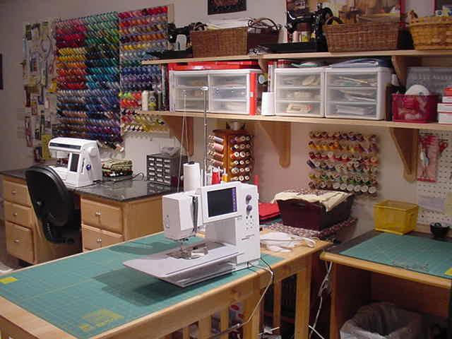 Photo gallery Sewing room ideas